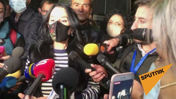 Наира Зограбян о преследованиях со стороны властей - Sputnik Արմենիա