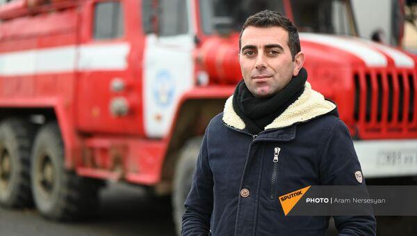Пресс-секретарь Госслужбы по ЧС Унан Тадевосян - Sputnik Արմենիա