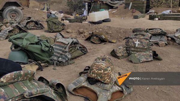 Аскеранское артиллерийское подразделение после прекращения военных действий - Sputnik Արմենիա