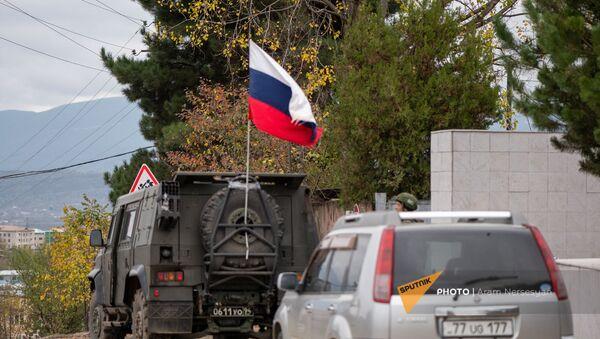 Российские миротворцы в Карабахе (14 ноября 2020). - Sputnik Армения