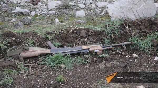 Дорога на подступе к Шуши после окончания военных действий (14 ноября 2020). Карабах - Sputnik Армения