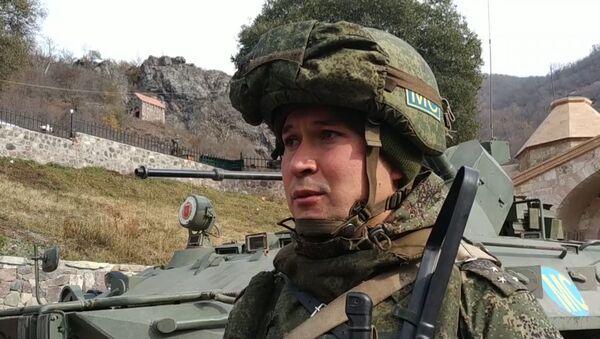 Старший лейтенант из состава миротворческих сил РФ рассказывает о Дадиванке - Sputnik Արմենիա