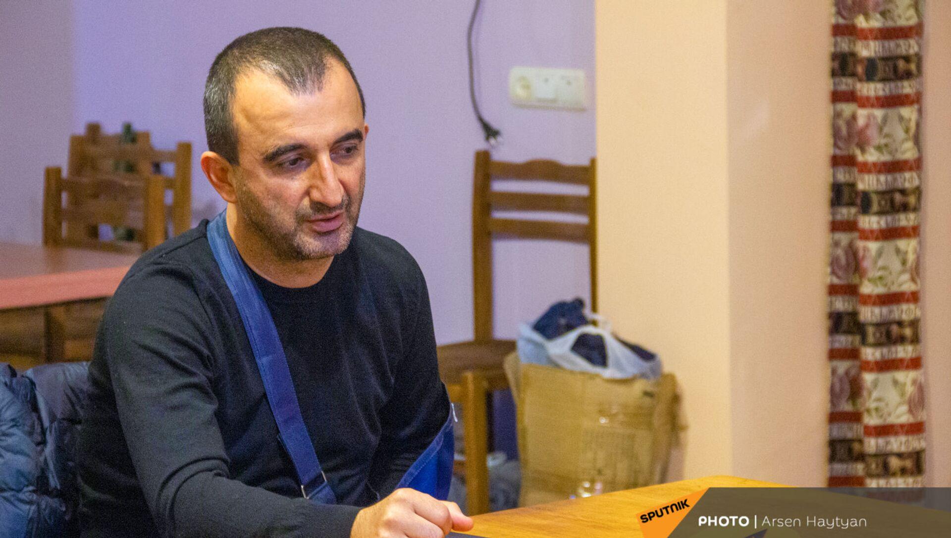 Глава общины Мегри Мхитар Закарян - Sputnik Армения, 1920, 23.04.2021