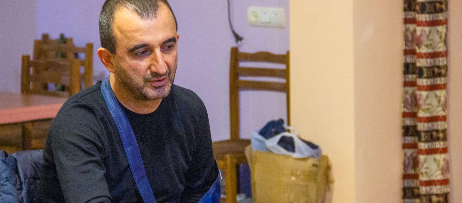 Глава общины Мегри Мхитар Закарян - Sputnik Армения, 1920, 23.07.2021