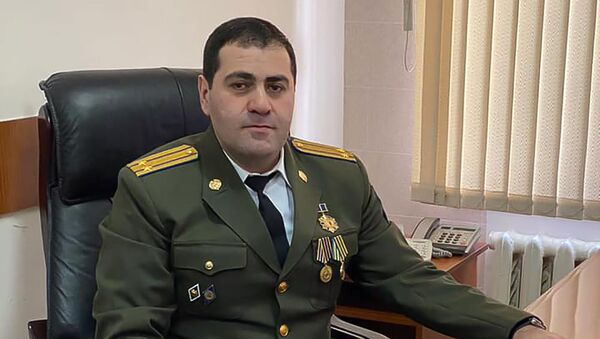 Подполковник Службы нацбезопасности Армении Ашот Ташчян - Sputnik Արմենիա