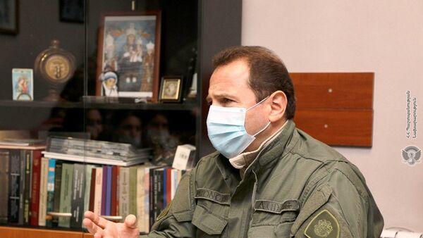 Экс-министр обороны Давид Тоноян  - Sputnik Армения