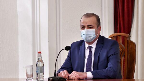 Премьер-министр Никол Пашинян представил нового главу СНБ Армена Абазяна (19 ноября 2020). Еревaн - Sputnik Արմենիա