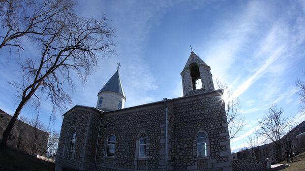 Церковь Канач Жам в Шуши, Карабах - Sputnik Армения