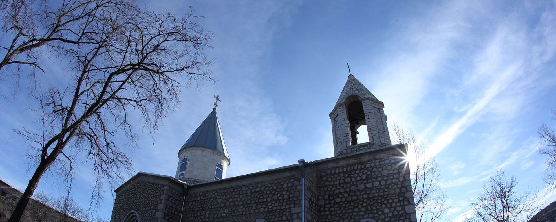 Церковь Канач Жам в Шуши, Карабах - Sputnik Արմենիա, 1920, 19.11.2020