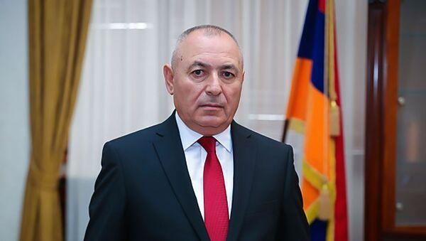 Министр по чрезвычайным ситуациям Армении Андраник Пилоян - Sputnik Արմենիա