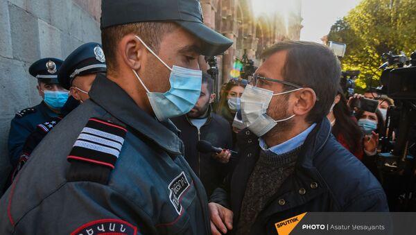 Гегам Манукян обьявил голодовку с требованием отставки премьер-министра (23 ноября 2020). Еревaн - Sputnik Արմենիա
