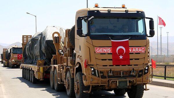 Турецкая армия прибыла на учения в Азербайджан  - Sputnik Армения