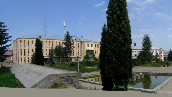 Вид на центральную площадь Степанавана - Sputnik Արմենիա