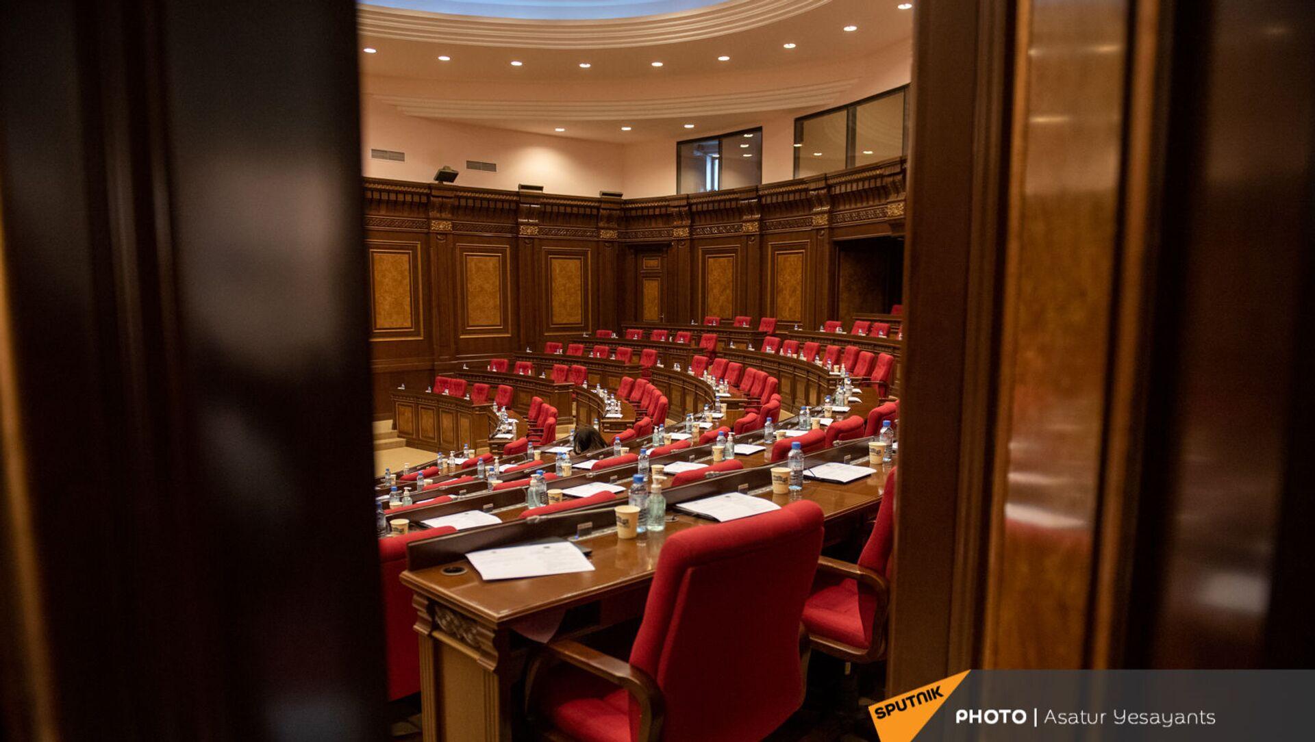 Внеочередное заседание Парламента Армении (26 ноября 2020). Еревaн - Sputnik Արմենիա, 1920, 10.08.2021