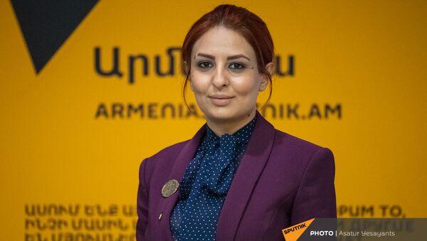 Ани Самсонян в гостях у радио Sputnik  - Sputnik Արմենիա