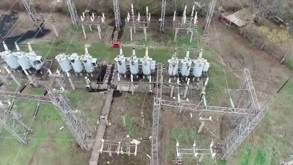 Восстановление электроснабжения в Степанакерте - Sputnik Армения