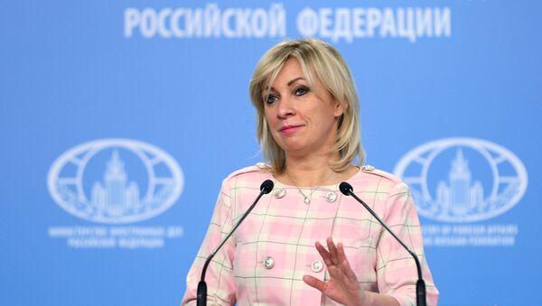 Официальный представитель Министерства иностранных дел РФ Мария Захарова  - Sputnik Армения