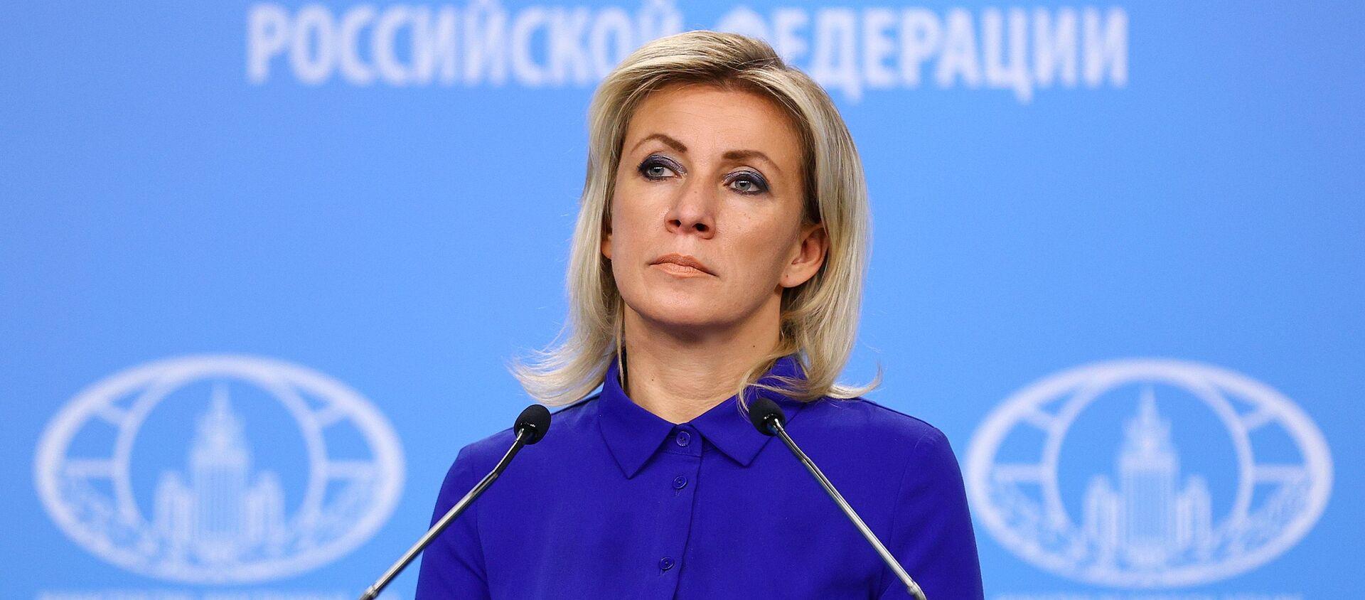 Официальный представитель Министерства иностранных дел России Мария Захарова - Sputnik Արմենիա, 1920, 31.07.2021