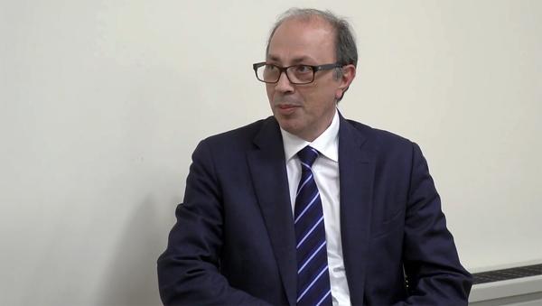 Министр иностранных дел Армении Ара Айвазян во время встречи с госсекретарем иностранных дел Франции Жаном-Батистом Лемуаном (27 ноября 2020). Еревaн - Sputnik Արմենիա