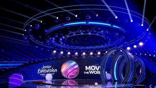 Сцена детского Евровидения 2020  - Sputnik Армения