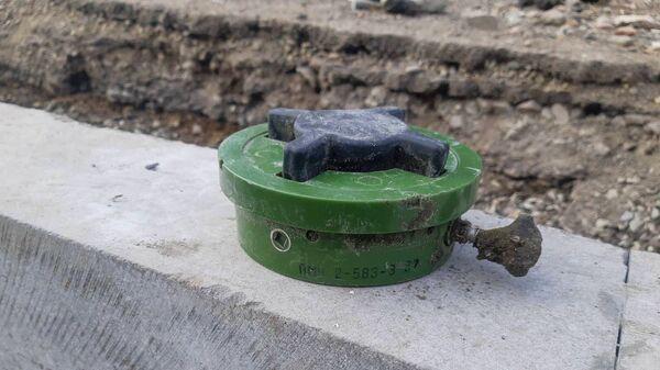 Обезврежена обнаруженная в городе мина (30 ноября 2020). Гюмри - Sputnik Армения