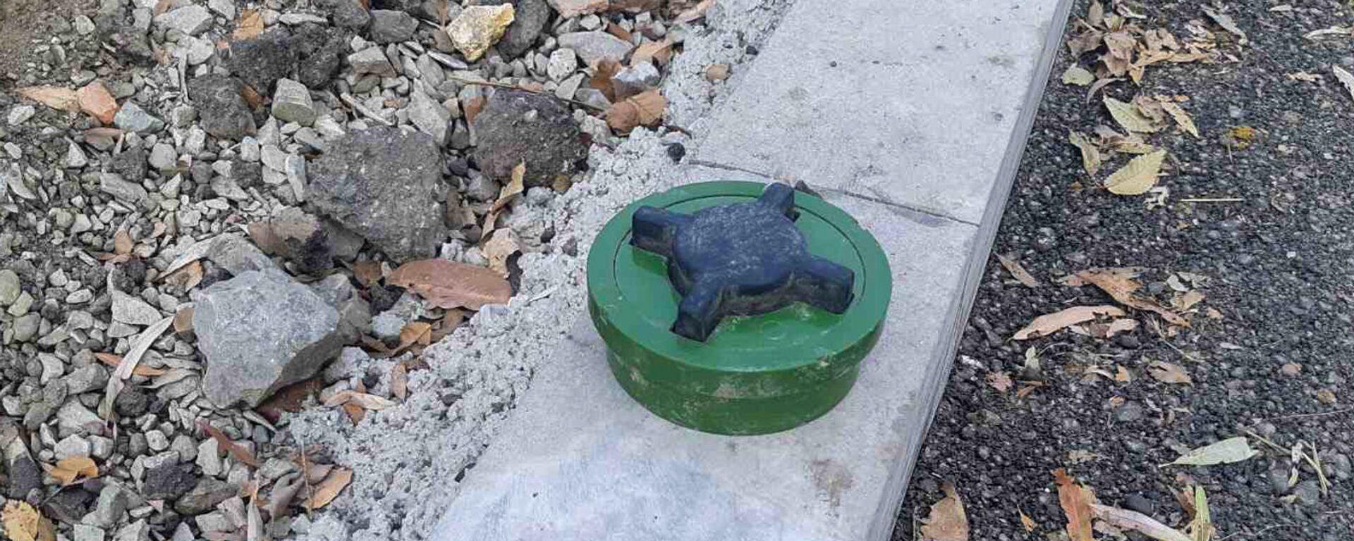 Обезврежена обнаруженная в городе мина (30 ноября 2020). Гюмри - Sputnik Արմենիա, 1920, 30.11.2020