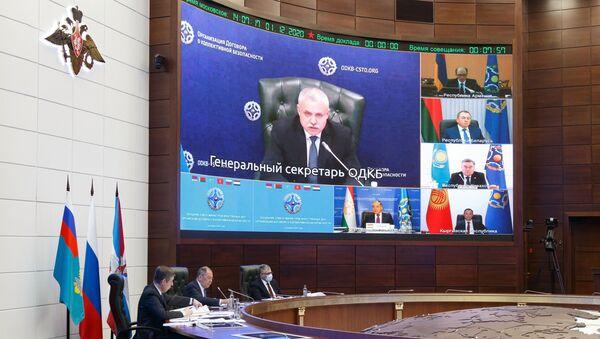 Заседание Совета министров иностранных дел ОДКБ под председательством С. Лаврова - Sputnik Армения
