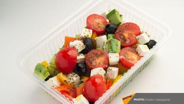 Здоровое питание: греческий салат - Sputnik Армения