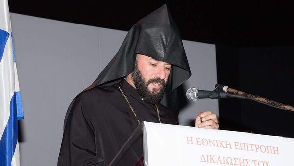 Архиепископ Хорен Аракелян, наместник Греческой епархии (Греко-Армянской епархии) - Sputnik Արմենիա