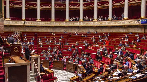 Депутаты Национального собрания Франции на заседании (17 февраля 2020). Париж - Sputnik Армения