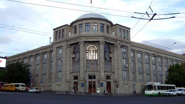 Здание Ереванского медицинского университета - Sputnik Армения