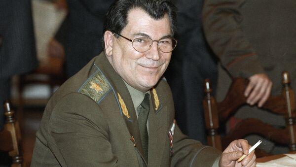 Маршал авиации Евгений Шапошников. - Sputnik Армения