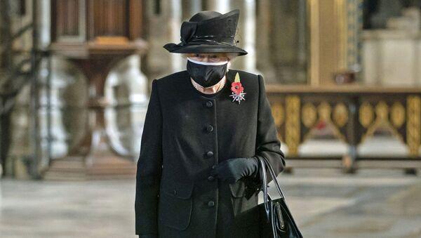 Королева Великобритании Елизавета II на церемонии в Вестминстерском аббатстве - Sputnik Армения