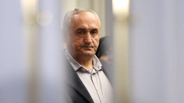 Размик Тевонян во время презентации предвыборной программы фракции Елк (5 марта 2017). Еревaн - Sputnik Армения