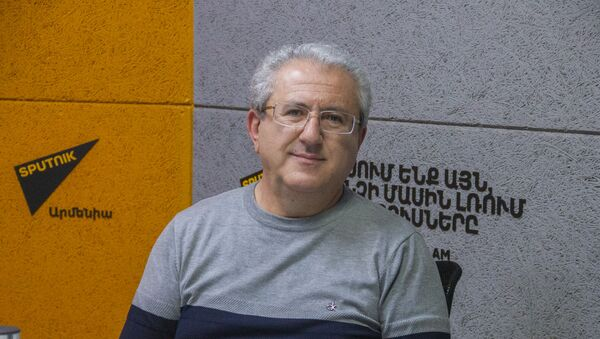 Политолог Гарик Керян - Sputnik Արմենիա