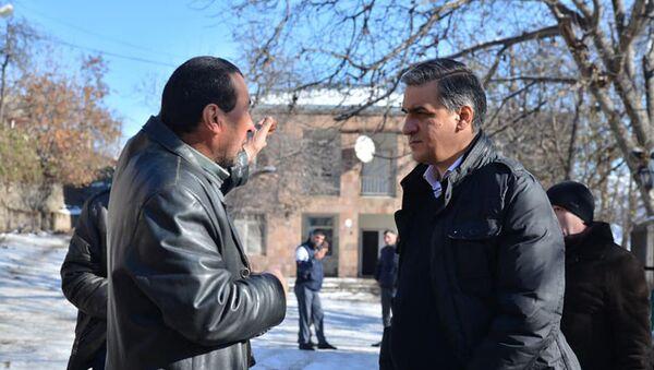 Рабочая группа во главе с омбудсменом Арманом Татояном посетила села Сюника (12 декабря 2020). Хозавар - Sputnik Армения