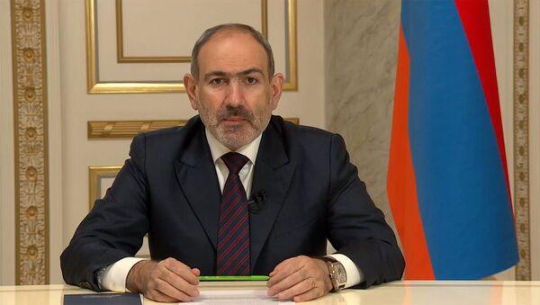 Премьер-министр Никол Пашинян обращается к нации (14 декабря 2020). Еревaн - Sputnik Արմենիա