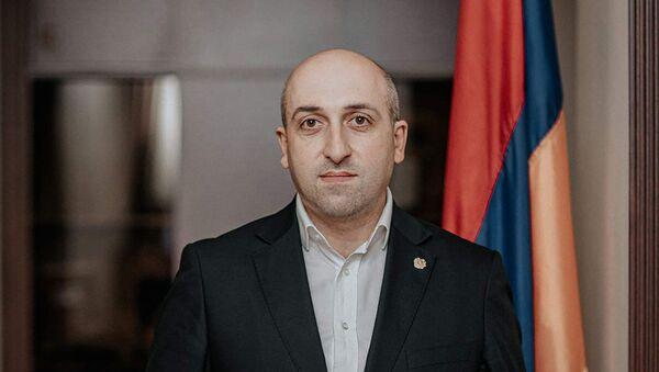 Губернатор Лорийской области Андрей Гукасян - Sputnik Армения