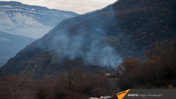 Пограничная зона с Азербайджаном (18 декабря 2020). Капан - Sputnik Армения
