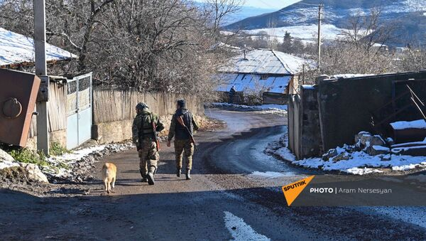Село Давид Бек (19 декабря 2020). Сюник - Sputnik Армения