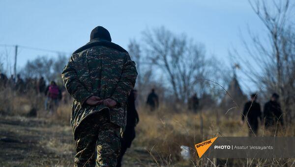 Ветераны войны в пантеоне Ераблур (19 декабря 2020). Еревaн - Sputnik Армения