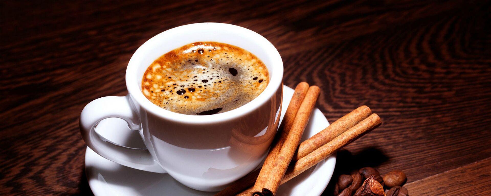 Чашка кофе с корицей - Sputnik Արմենիա, 1920, 29.06.2021