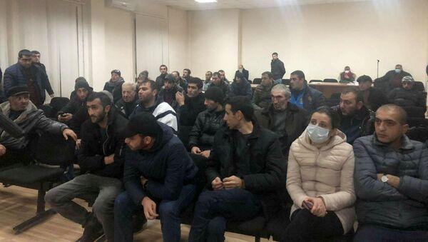 Встреча с родственниками пленных военнослужащих (19 декабря 2020). Гюмри - Sputnik Արմենիա