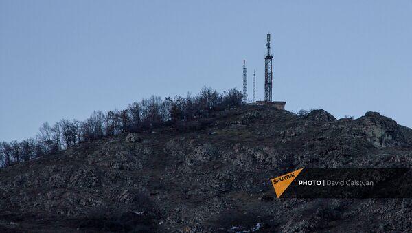 Телевышка села Чакатен Сюникской области - Sputnik Армения