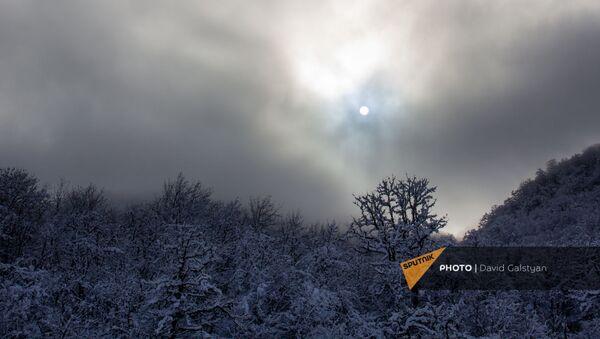 Зимние пейзажи Сюника - Sputnik Армения