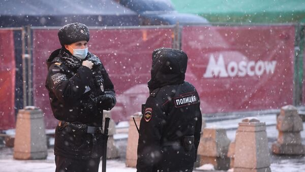 Снег в Москве - Sputnik Արմենիա