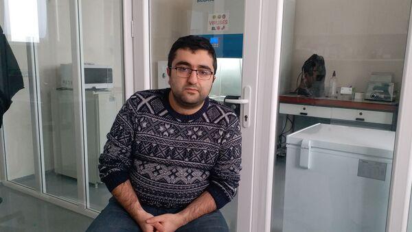 Старший научный сотрудник НИИ Молекулярной биологии Академии наук Армении Оваким Закарян (22 декабря 2020). Еревaн - Sputnik Արմենիա