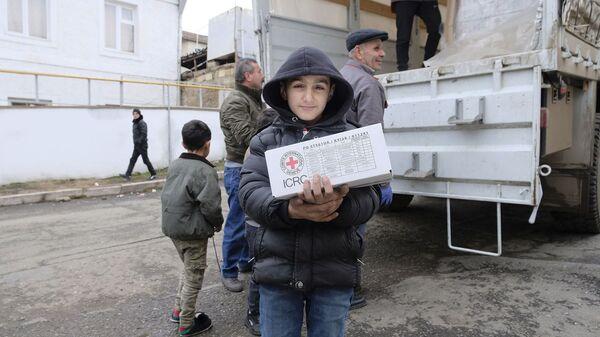 Миссия МККК помогла 221 семье, оставшихся без крова в результате карабахской войны (25 декабря 2020). Карабах - Sputnik Армения