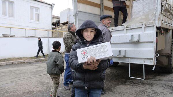 Миссия МККК помогла 221 семье, оставшихся без крова в результате карабахской войны (25 декабря 2020). Карабах - Sputnik Արմենիա