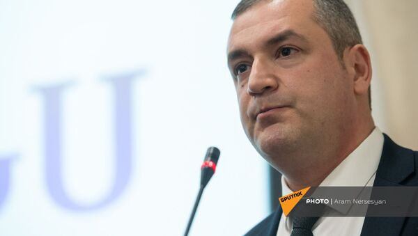 Тигран Уриханян на внеочередном съезде партии Альянс (26 декабря 2020). Еревaн - Sputnik Արմենիա